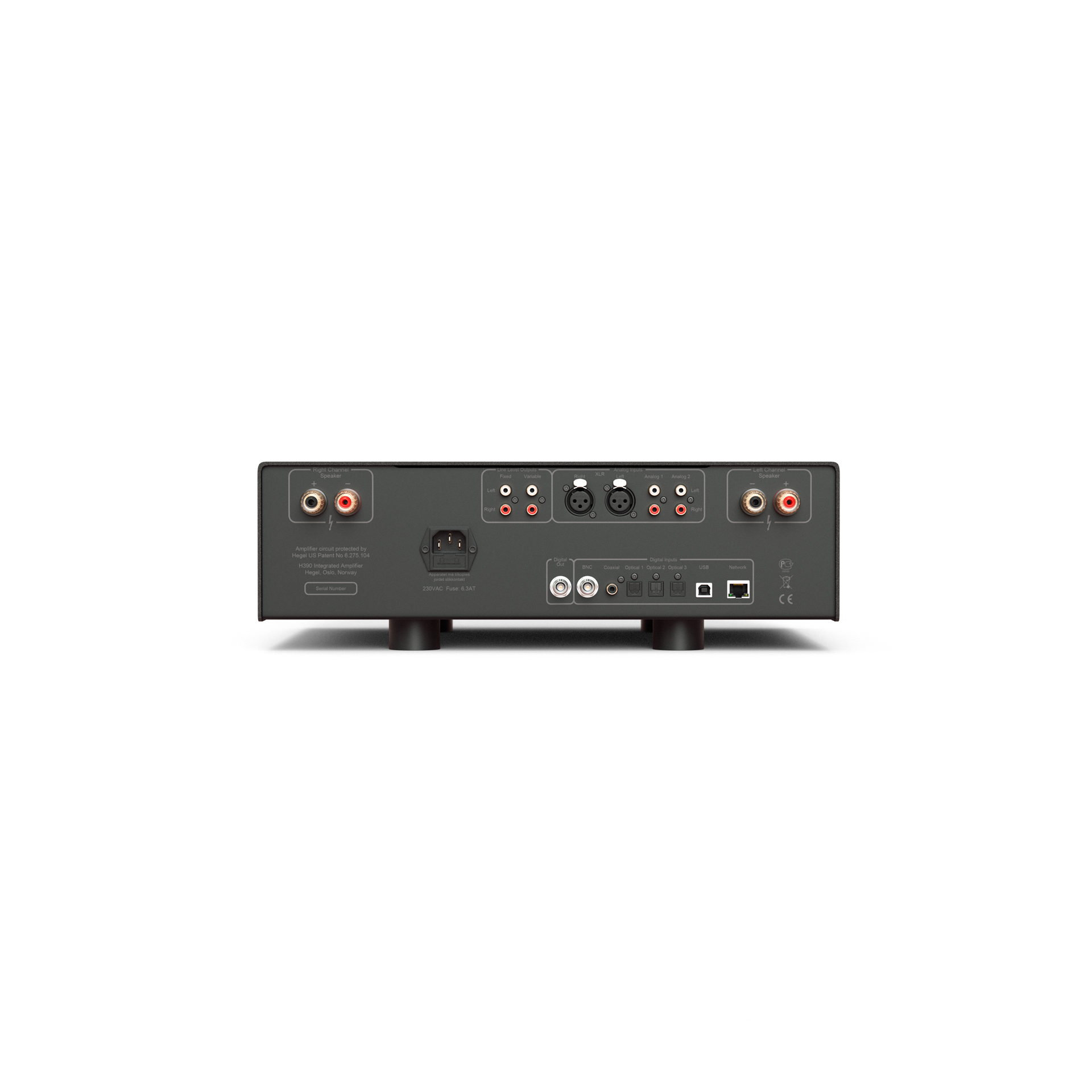 Play Hifi Toulouse HEGEL H390